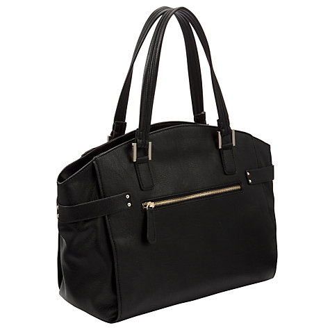 Buy COLLECTION by John Lewis Wing Grab Bag, Black Online at johnlewis.com