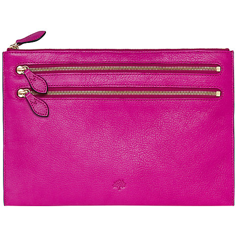 Buy Mulberry Multi-Zip Pouch Online at johnlewis.com