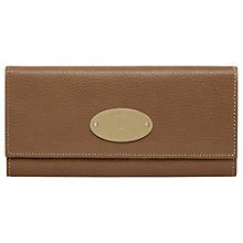 Buy Mulberry Continental Leather Wallet Online at johnlewis.com