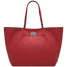 Buy Mulberry Medium Dorset Tote Handbag, Bright Red Online at johnlewis.com