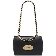 Buy Mulberry Medium Cecily Shoulder Handbag, Black Online at johnlewis.com
