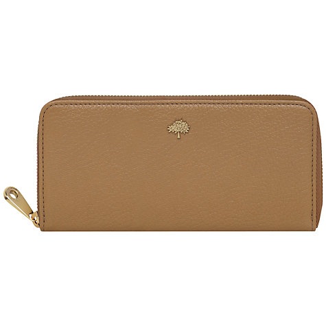 Buy Mulberry Tree Zip Around Leather Wallet Online at johnlewis.com
