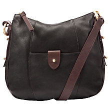 Buy John Lewis Georgie Leather Across Body Handbag Online at johnlewis.com