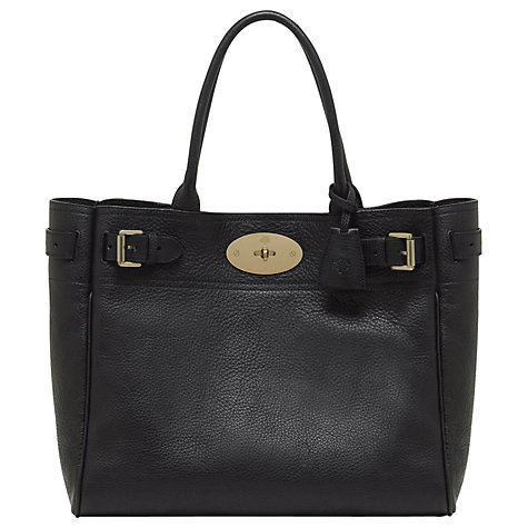 Buy Mulberry Bayswater Leather Tote Bag Online at johnlewis.com
