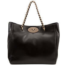 Buy Mulberry Cecily Tote Bag, Black Online at johnlewis.com