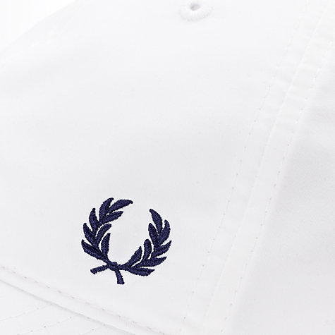 Buy Fred Perry Embroidered Logo Tennis Cap Online at johnlewis.com