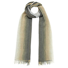 Buy Jigsaw Lenia Scarf, Biscuit Online at johnlewis.com