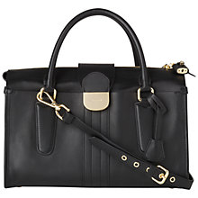 Buy Jaeger Lola Bowling Handbag, Black Online at johnlewis.com