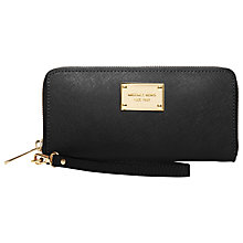 Buy MICHAEL Michael Kors iPhone Continental Carry Leather Purse Online at johnlewis.com