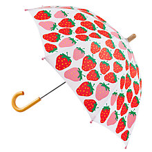 Buy Hatley Summer Strawberry Umbrella Online at johnlewis.com