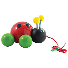 Buy Vilac Ladybird Pull Toy Online at johnlewis.com