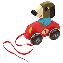 Buy Vilac Fangio the Dog Pull Toy Online at johnlewis.com