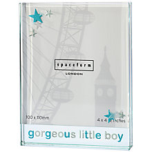 Buy Spaceform Gorgeous Little Boy Frame, Large Online at johnlewis.com