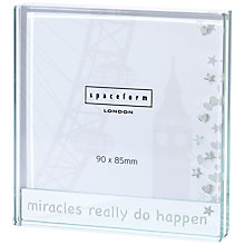 Buy Spaceform Miracles Really Do Happen Frame Online at johnlewis.com