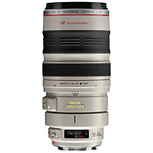 Buy Canon EF 100-400mm f/4.5-5.6L IS USM Telephoto Lens Online at johnlewis.com