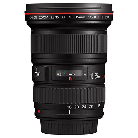 Buy Canon EF 16-35mm f/2.8L II USM Standard Lens Online at johnlewis.com