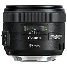 Buy Canon EF 35mm f/2 IS USM Standard Lens Online at johnlewis.com
