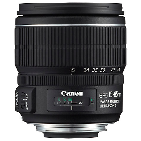 Buy Canon EF-S 15-85mm f/3.5-5.6 IS USM Telephoto Lens Online at johnlewis.com