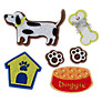 John Lewis Paper Toppers, Pack of 6, Dogs