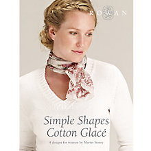 Buy Rowan Simple Shapes Cotton Glace Brochure, ZB131 Online at johnlewis.com