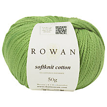 Buy Rowan Softknit Cotton Yarn, 50g Online at johnlewis.com
