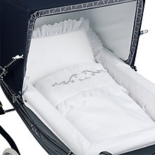 Buy Silver Cross Balmoral Bedding Set, White Online at johnlewis.com