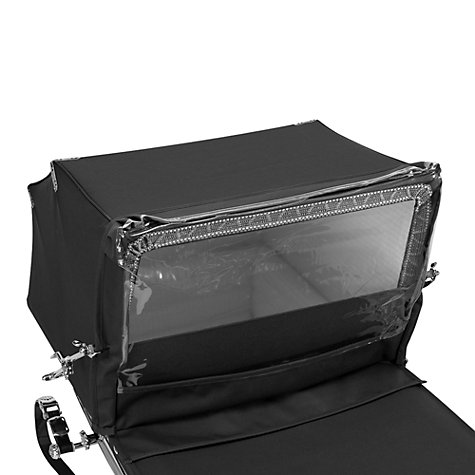 Buy Silver Cross Balmoral Rain Shield, Black Online at johnlewis.com