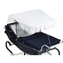 Buy Silver Cross Balmoral Sun Canopy, White Online at johnlewis.com