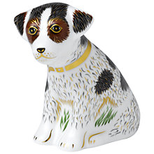 Buy Royal Crown Derby Bertie Sitting Puppy Paperweight Online at johnlewis.com