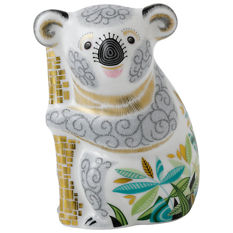 Buy Royal Crown Derby Golden Koala Paperweight Online at johnlewis.com