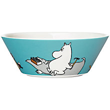 Buy Finland Arabia 'Moomintroll' Bowl Online at johnlewis.com