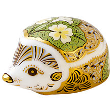 Buy Royal Crown Derby Primrose Hedgehog Paperweight Online at johnlewis.com