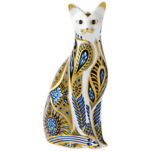 Buy Royal Crown Derby Siamese Cat Paperweight Online at johnlewis.com