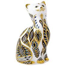 Buy Royal Crown Derby Siamese Kitten Paperweight Online at johnlewis.com