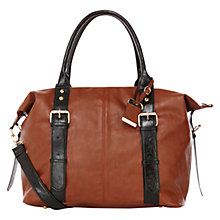 Buy Oasis Betsy Holdall, Tan Online at johnlewis.com