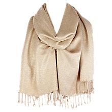 Buy Coast Jacquard Wrap, Gold Online at johnlewis.com