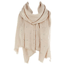 Buy Coast Galaxy Wrap Scarf, Neutrals Online at johnlewis.com
