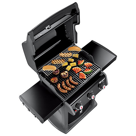 buy weber spirit classic e 310 3 burner gas bbq john lewis. Black Bedroom Furniture Sets. Home Design Ideas