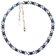Buy Alice Joseph Vintage 1950s Lisner Blue Diamante Necklace Online at johnlewis.com