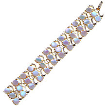 Buy Alice Joseph Vintage Marhill 5th Avenue Mother of Pearl Bracelet Online at johnlewis.com