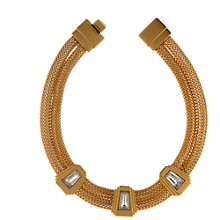 Buy Eclectica 1970s Monet Gold Plated Chain Collar Necklace Online at johnlewis.com