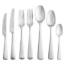 Buy Studio William Mahogany Satin Cutlery Set, 42 Piece Online at johnlewis.com