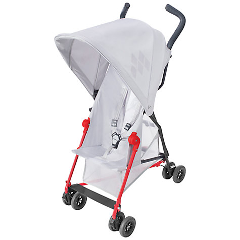 Buy Maclaren Mark II Pushchair, Silver Online at johnlewis.com