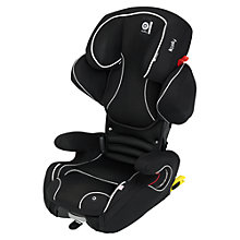 Buy Kiddy Cruiserfix Pro Group 2/3 Car Seat, Black Online at johnlewis.com