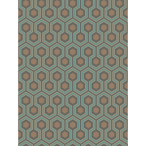 Buy Cole & Son Hicks Hexagon Wallpaper Online at johnlewis.com