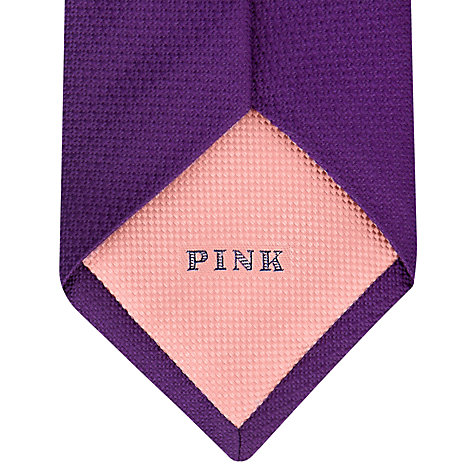 Buy Thomas Pink Newham Woven Silk Tie Online at johnlewis.com