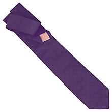 Buy Thomas Pink Lytton Semi Plain Tie Online at johnlewis.com
