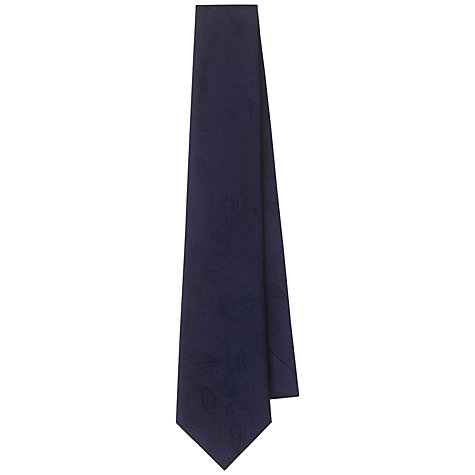 Buy Aquascutum Paisley Print Silk Tie Online at johnlewis.com