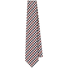 Buy Aquascutum Club Check Silk Tie Online at johnlewis.com