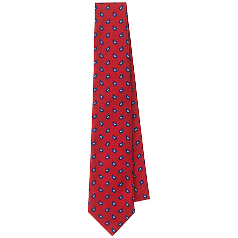 Buy Aquascutum Teardrop Silk Tie Online at johnlewis.com